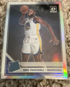 2019-20-Donruss-Optic-Eric-Paschall-Rated-Rookie-SILVER-HOLO-Prizm-199