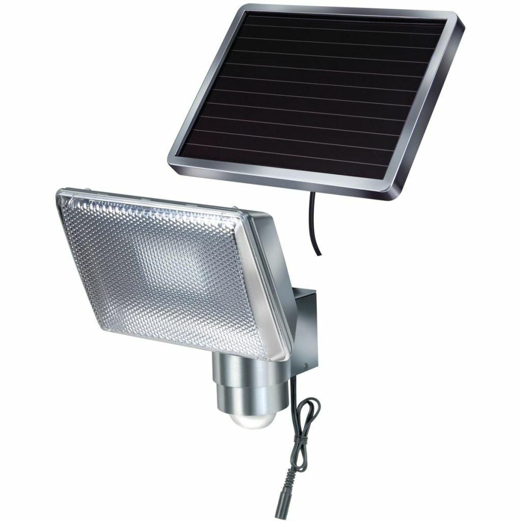 Lámpara Solar de Seguridad Brennenstuhl Sensor de Movimiento Luz LED