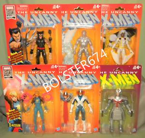 producto de calidad Tormenta Cíclope Cíclope Cíclope de wolverine Samurai Iceman Uncanny X-men Marvel Leyendas 80 años  salida
