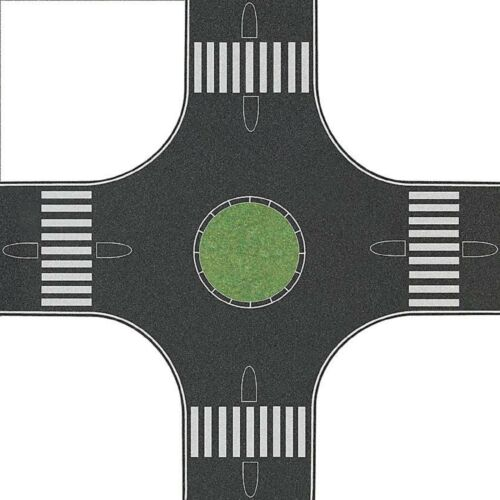per 80 mm strade asfalto Busch 1101 rotatoria 111 €//m² h0 300 x 300mm
