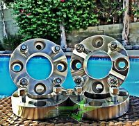 4 Wheel Spacers 1 Inch Thick | 4x100 To 4x4.5 | Or 4x100 To 4x114 | 12x1.5 Lugs