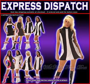 Wild-Nights-60-039-s-70-039-s-Mod-Dress-8-10-12-14-16-18-20-22