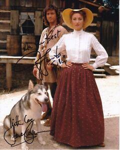 JANE SEYMOUR & JOE LANDO Signed Autographed DR  QUINN, MEDICINE