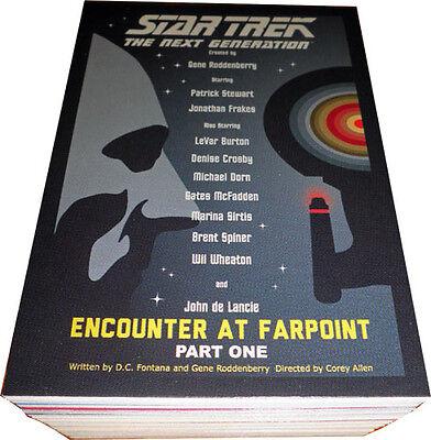 Star Trek Complete sets kaarten Star Trek The Next Generation Portfolio Prints Series 2 Complete Base Set TNG