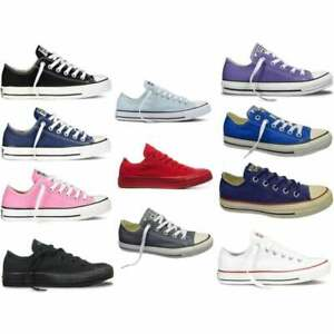 3772061ee600 Converse CT All Star Ox Unisex Trainers in Various Colours and Sizes ...