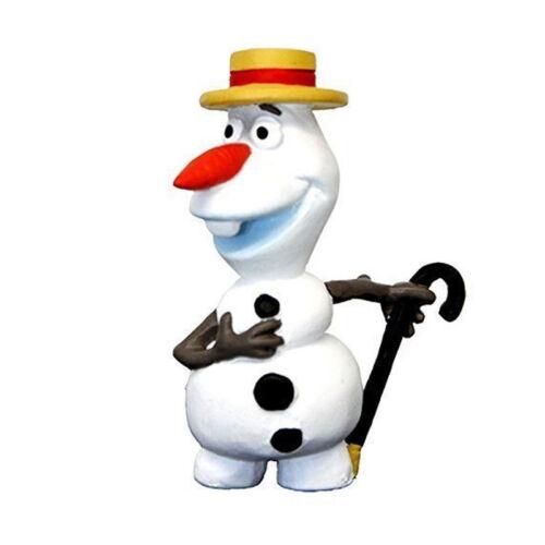 """Bullyland 12969 Frozen # Die Eiskönigin Figur /""""Olaf mit Hut/"""" Kunststoff NEU"""
