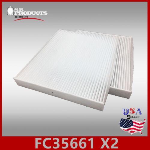 FC35661 2PC//SET CAF1814 CABIN AIR FILTER ~ 2007-2009 SANTA FE /& 2006-2008 SONATA