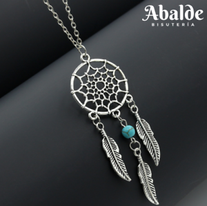 Collar-Colgante-Joya-Mujer-Amuleto-Atrapasuenos-Suerte-Regalo-Navidad-Reyes