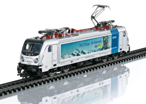 Märklin 36631 E-Lok Br 187 BLS Cargo Mfx Suound Metallo # Nuovo in Confezione