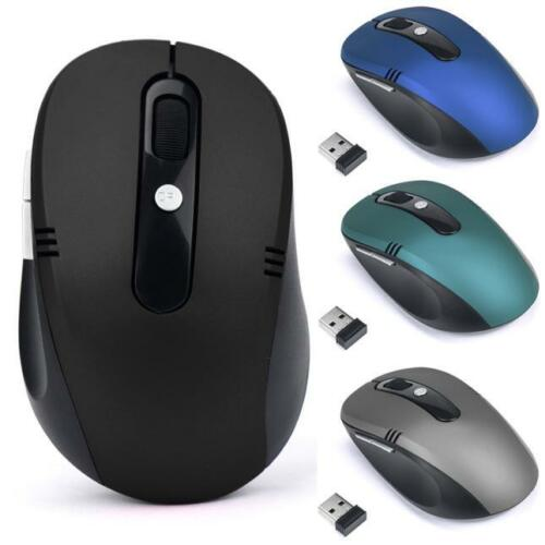 2.4GHz Wireless Mouse USB 2000DPI Optical Scroll Mice For Tablet Laptop Computer
