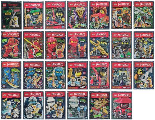 Lego Ninjago Polybag Mini Figurines Selection Limited Edition Kai Zanè Bucko