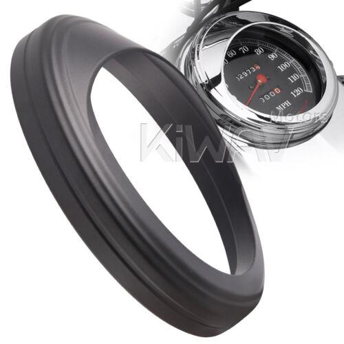 """US#1 Black trim ring visor bezel cover for 5/"""" speedometer tank mounted US STOCK"""