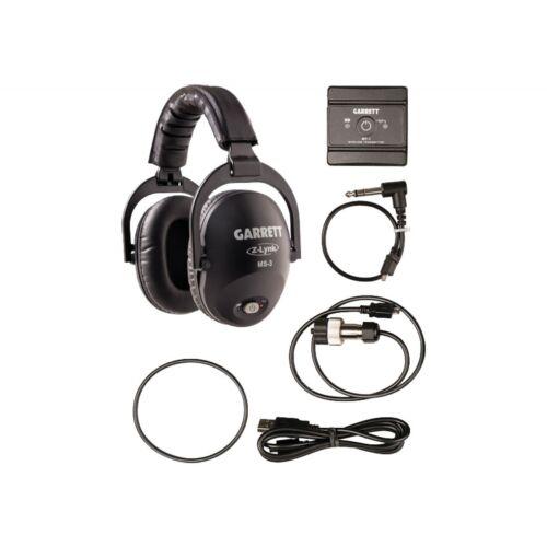Nuevo GARRETT MS-3 Wireless Z-Lynk Kit De Auriculares-detecnicks Ltd