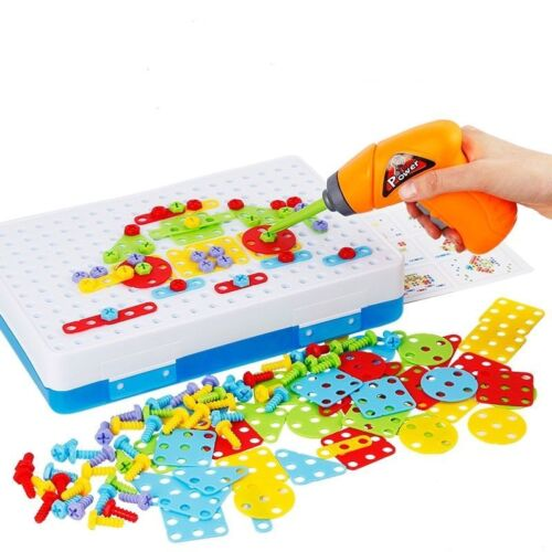 Children Toys Electric Drill Nut Disassembly Match Tool Educational Toys