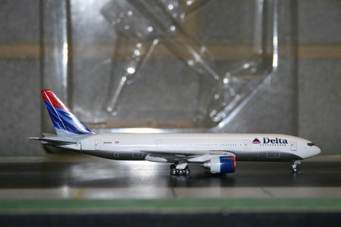 Gemini Jets 1 400 Delta Airlines Boeing 777-200 N863DA (GJDAL090) Sample model