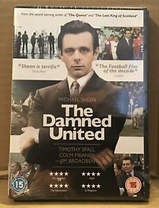 The-Damned-United-DVD-BRAND-NEW-SEALED-Michael-Sheen-as-Brian-Clough