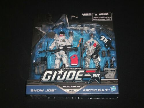 "s /"" Free Shipping G.I.JOE 50th Anniversary Action Figures  /""Select Your Set"