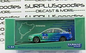 Tarmac-Works-Hobby64-Mitsubishi-Lancer-Evolution-EVO-X-FALKEN-Nurburgring-143