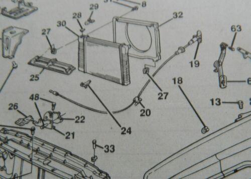 GM Truck 1982-91 Hood Bumper Kit Chevy GMC CK 82 83 84 85 86 87 88 89 90 91 CK