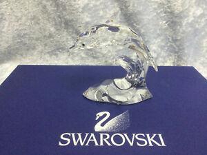 Swarovski Crystal Dolphin 7644000001 190365. Retired 2011.