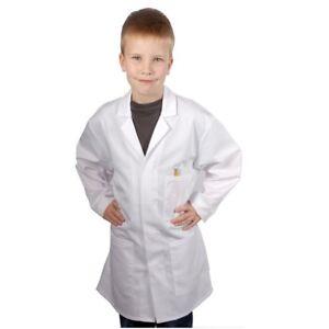 Kids-Doctors-Scientist-White-Lab-Coat-Childrens-Girls-Boys-Fancy-Dress-Costume