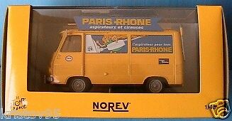 PEUGEOT J7 VOITURE BALAI PARIS RHONE TDF NOREV 1 43 NEW