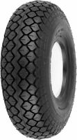 Puncture Proof Solid Mobility Scooter Tyre 330x100 400x5 4.00-5 Black Diamond