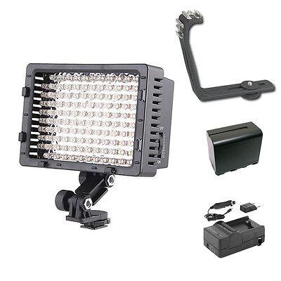 Pro 12 SLR LED video light F970 for Nikon D750 D810 D610 D7100 D5300 D3300 DF D4