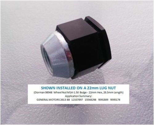 Chrome 22mm 2008-09 NEW PONTIAC G8 Wheel Lug Nut Cover Chrome Finish Qty:20