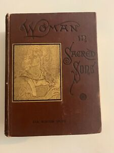 Antique-Women-In-Sacred-Song-By-Eva-Munson-Smith-1888-Hardcover