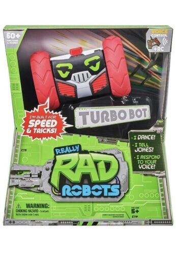 Really RAD Robots-Remote Control Robot wiVoice Command-Built For Speed /& Tricks
