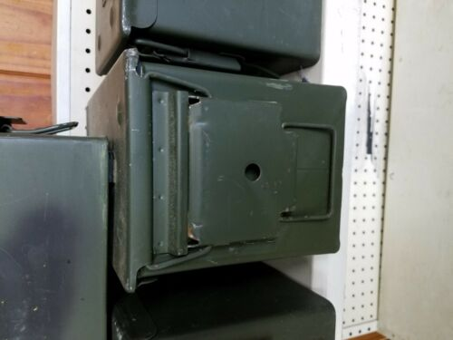 """3 Ammo Cans Military Surplus .50 cal size 5.56 Can US 50 Cal M739A1 5.5/"""" x 7/'"""