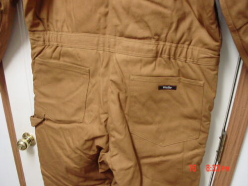 NWT Men/'s Brown Tan Walls Insulated Duck Coveralls Water Repellent Work Wear XL