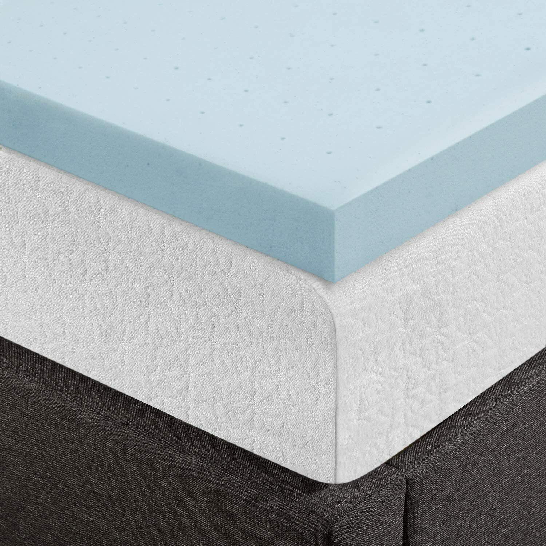 3 Ventilated Gel Memory Foam Mattress Topper Twin Xl New Sealed Pressure Relief For Sale Online