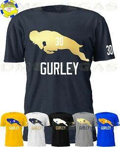 new product be1d4 2c095 Details about Los Angeles Rams Todd Gurley Jersey Tee Shirt Men S-5XL RAM  Shadow