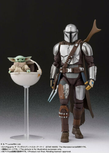 S.H.Figuarts Star Wars The Mandalorian Beskar Armor /& The Child Japan version
