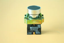 US Stock XB2BA21C 1N//O Flush Push Button Switch Momentary Replaces Telemecanique