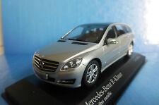 Mercedes Benz SL R230 Facelift 2007 silber silver metallic 1:43 Minichamps