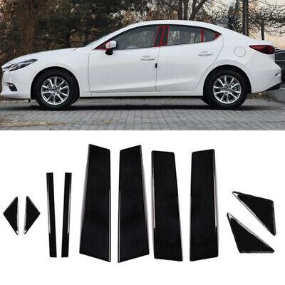 Fit for Honda Civic 2006-11 Mirror effect Window Pillar Posts Cover Trim 6pc vbg