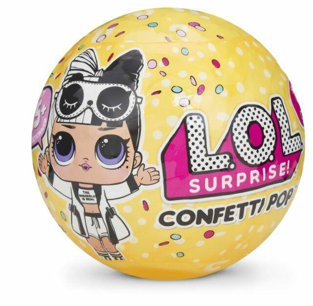 3 Re-Released Dolls Each Confetti Pop 3 Pack Beatnik Babe L.O.L Surprise