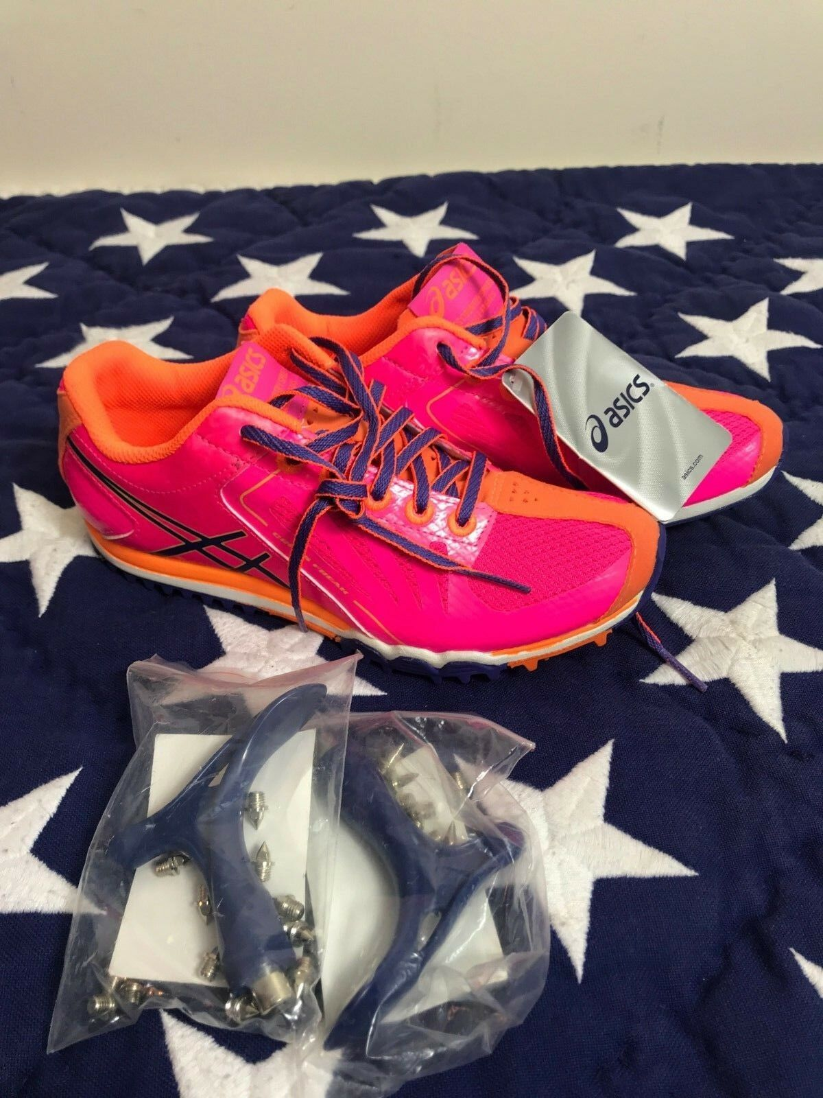 ASICS Women's Cross Freak shoes - sz 5 1 2 new with tags