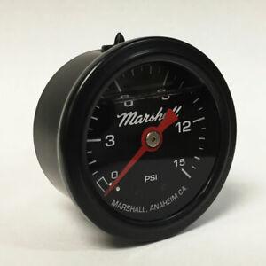 Marshall-1-5-034-Direct-Mount-Filled-Fuel-Pressure-Gauge-Black-Dial-LBB00015
