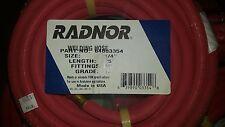 "RADNOR Welding House 1/4"" Length 25' Fittings BB Grade R"