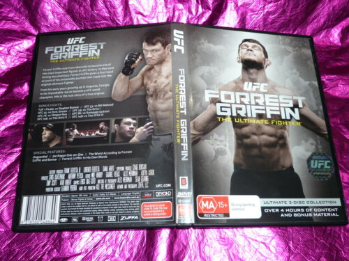 1 of 1 - UFC FORREST GRIFFIN THE ULTIMATE FIGHTER : (DVD, MA15+)