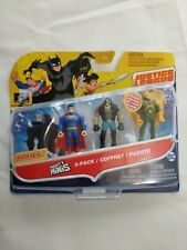 Justice League Action Mighty Minis 3pk Superman Lobo Hawkman New DWM43-DWM44