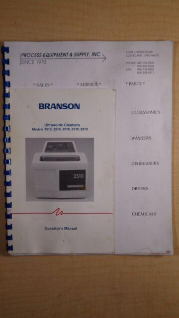 Branson 5510 Ultrasonic Cleaner - YouTube