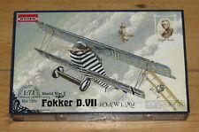 Fokker D.VIII O.A.W Mid   Word war 1         1/72 Roden