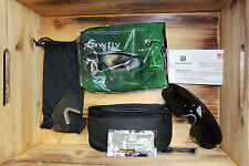 New Black Sawfly Revision Military Goggles Eyewear w Lenses & Case Set Large Kit