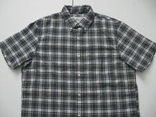 DENIM & SUPPLY RALPH LAUREN Men's Plaid Patch Pocket Summer Oxford Shirt L