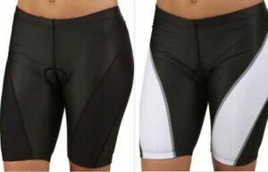 Nike 712743 Womens Triathlon Bike Tri Shorts Trunks Choose Solid or Stripe  $80